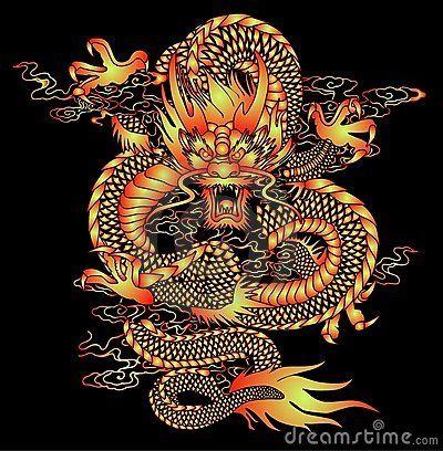 Configuration chinoise de dragon dragon chinois en 2019 dragon chinois dessin de dragon et - Dragon japonais ...