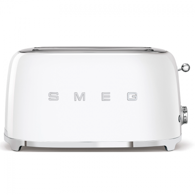 Best Sm*G Tsf02Whuk Retro Style 4 Slice Toaster In White At 400 x 300