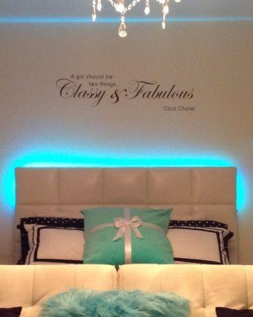 Teen Tiffany & co. Inspired room, Teen bedroom , Girls Rooms Design ...