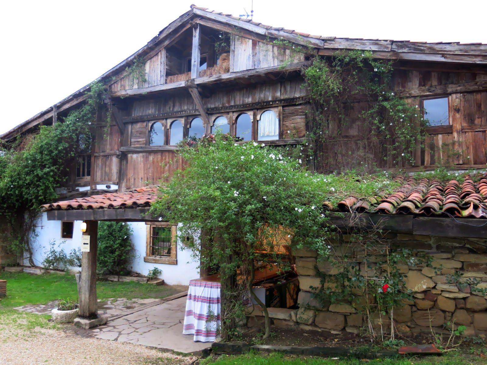 Caserios vascos arquitectura vasca pa s vasco y pais vasco frances - Casas rurales pais vasco frances ...