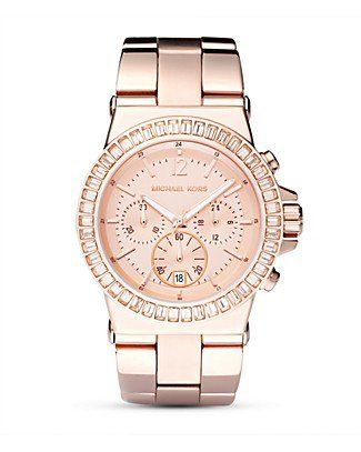 MICHAEL Michael Kors. i love rose colored watches  f6c007e4904b