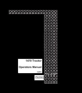 Best case ih 1470 tractor operators manual download