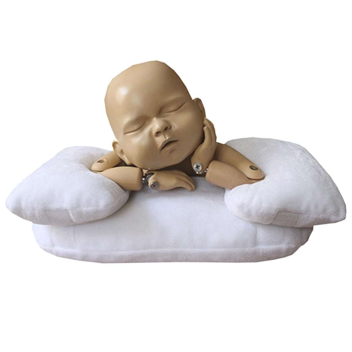 Photo of 3PCS Baby Photo Shoot Posing Pillow Newborn Baby Photography Props Beanie