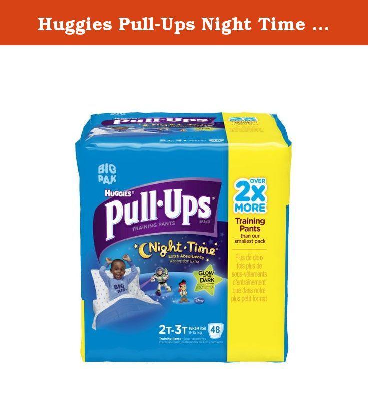 Huggies Pull-Ups Night Time Potty Training Pants for Boys Large 48 Pants