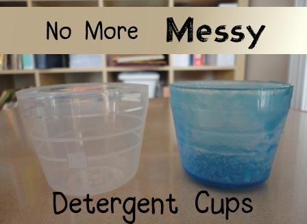 Get Rid Of The Messy Laundry Detergent Cup Once And For All