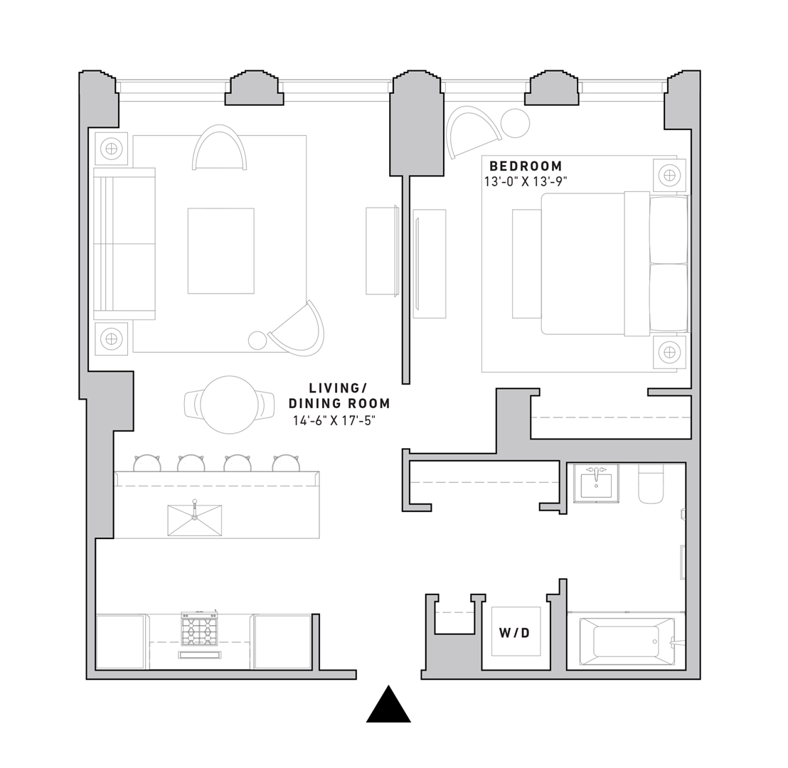 Manhattan Condos For Sale Floor Plans 121 E 22nd Grundriss