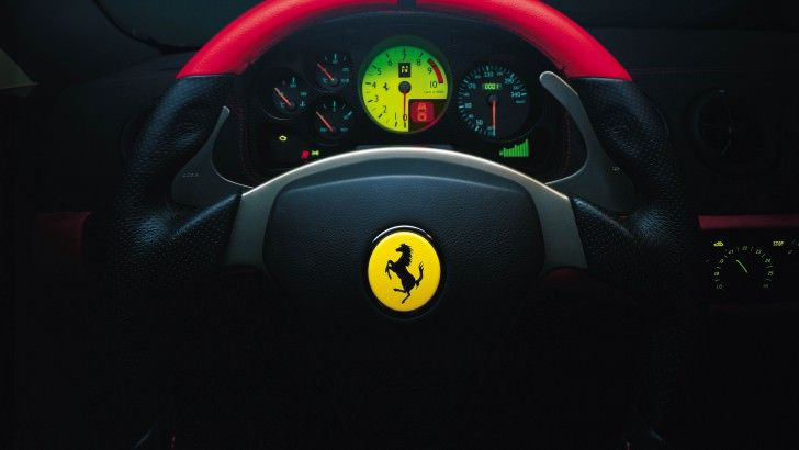Ferrari Steering Wheel Wallpaper 1 Ferrari Car Wallpapers