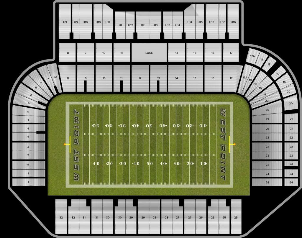 Michie Stadium Seating Chart