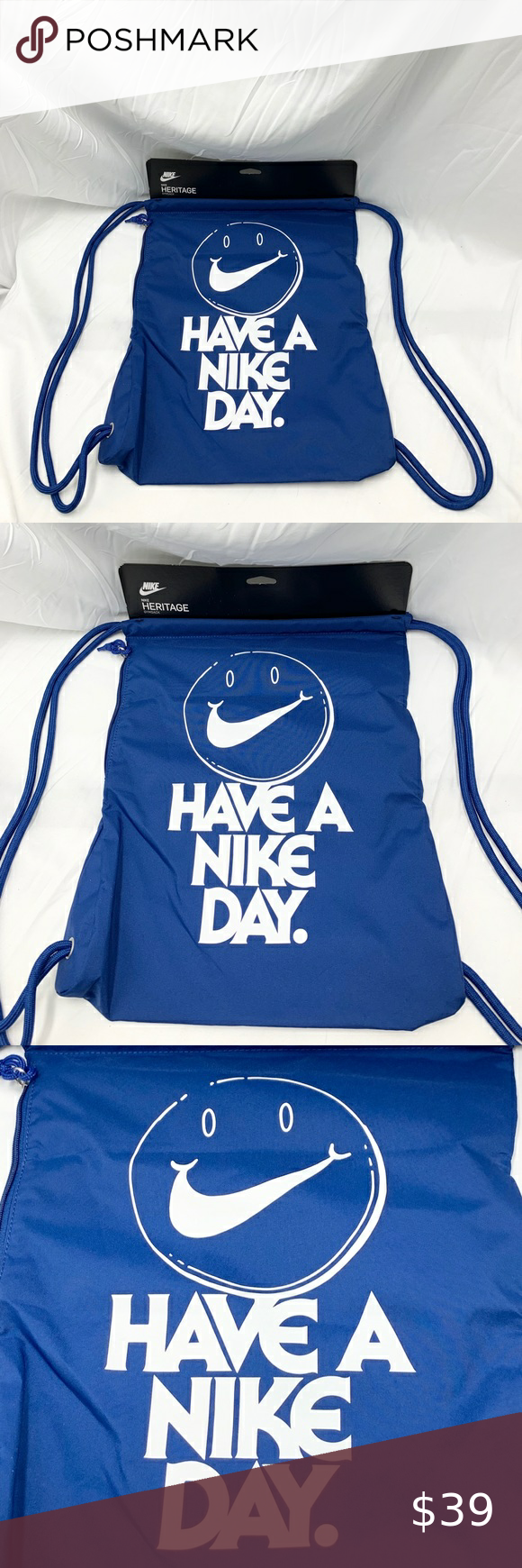 Nike Unisex Heritage Gym Sack Bag Sack Bag Gym Sack Clothes Design