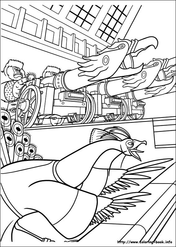 Kung Fu Panda 2 coloring picture   Coloring and Activities   Pinterest