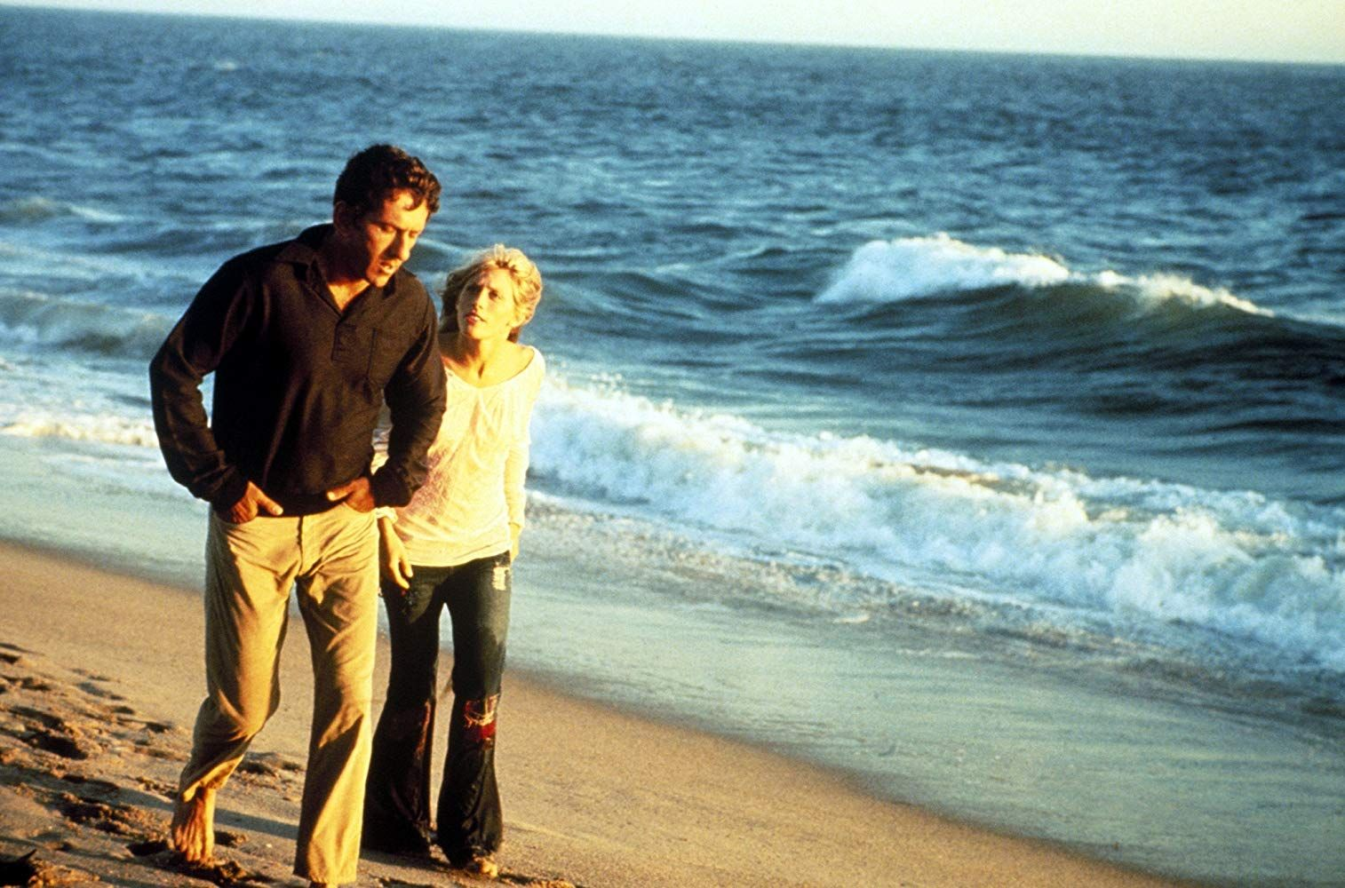 Victoria Medlin and Barry Newman in Vanishing Point (1971