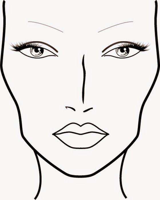 U00d4 Bonita Croqui X Face Chart | Maquiagem | Pinterest | Face Charts Face And Makeup