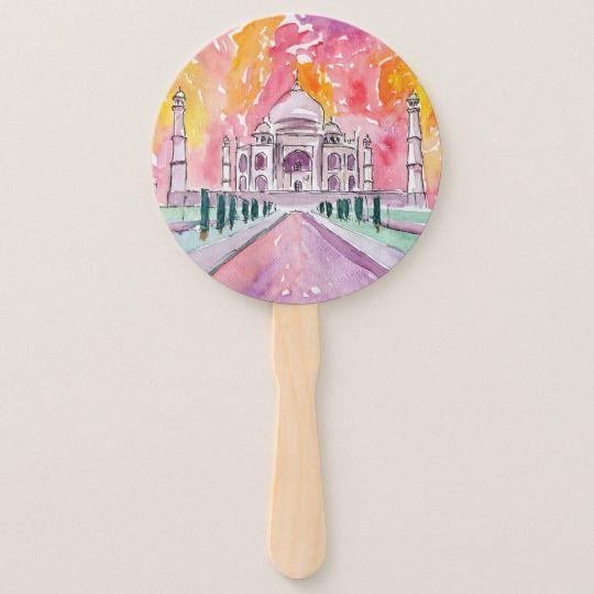 Taj Mahal - Indian spirit fan