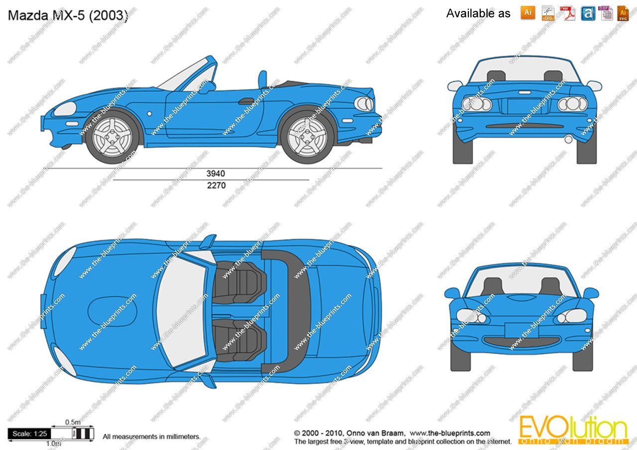 Image result for mazda mx 5 vector cars graphics pinterest cars malvernweather Choice Image
