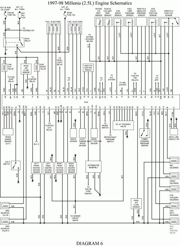 mazda mx6 diagram  schematic wiring diagram cyclequantity