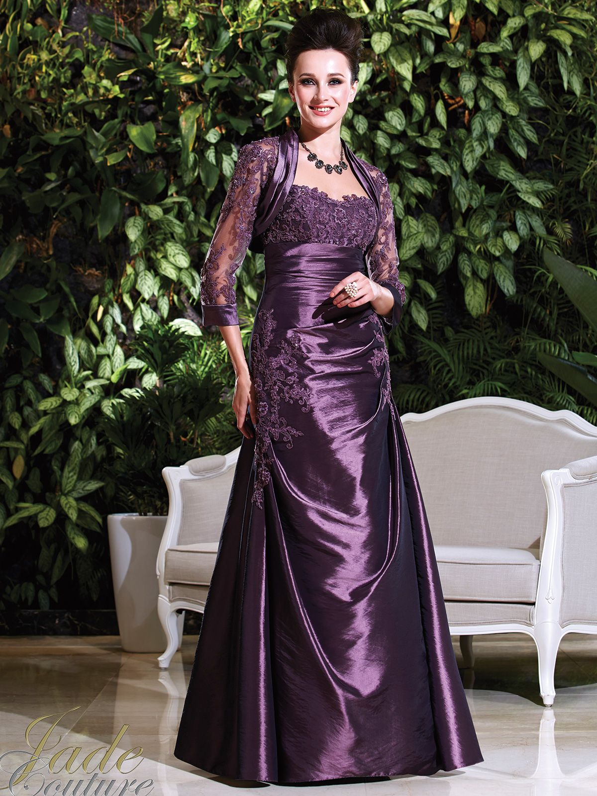 Jade Couture Mother Of The Bride Dress K168012: DimitraDesigns.com ...