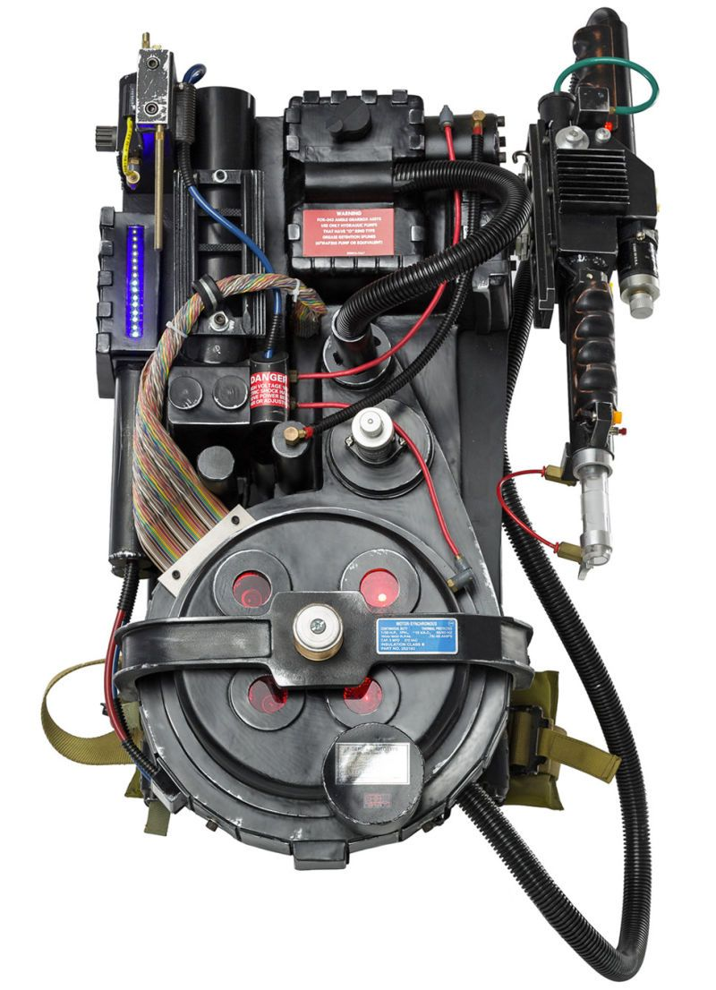 Actual proton pack from the movies.