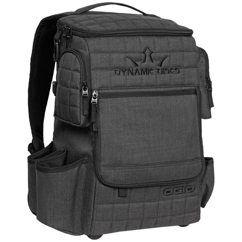 Dynamic Discs Ranger Disc Golf Bag Heathered Gray Adult Unisex Disc Golf Bag Disc Golf