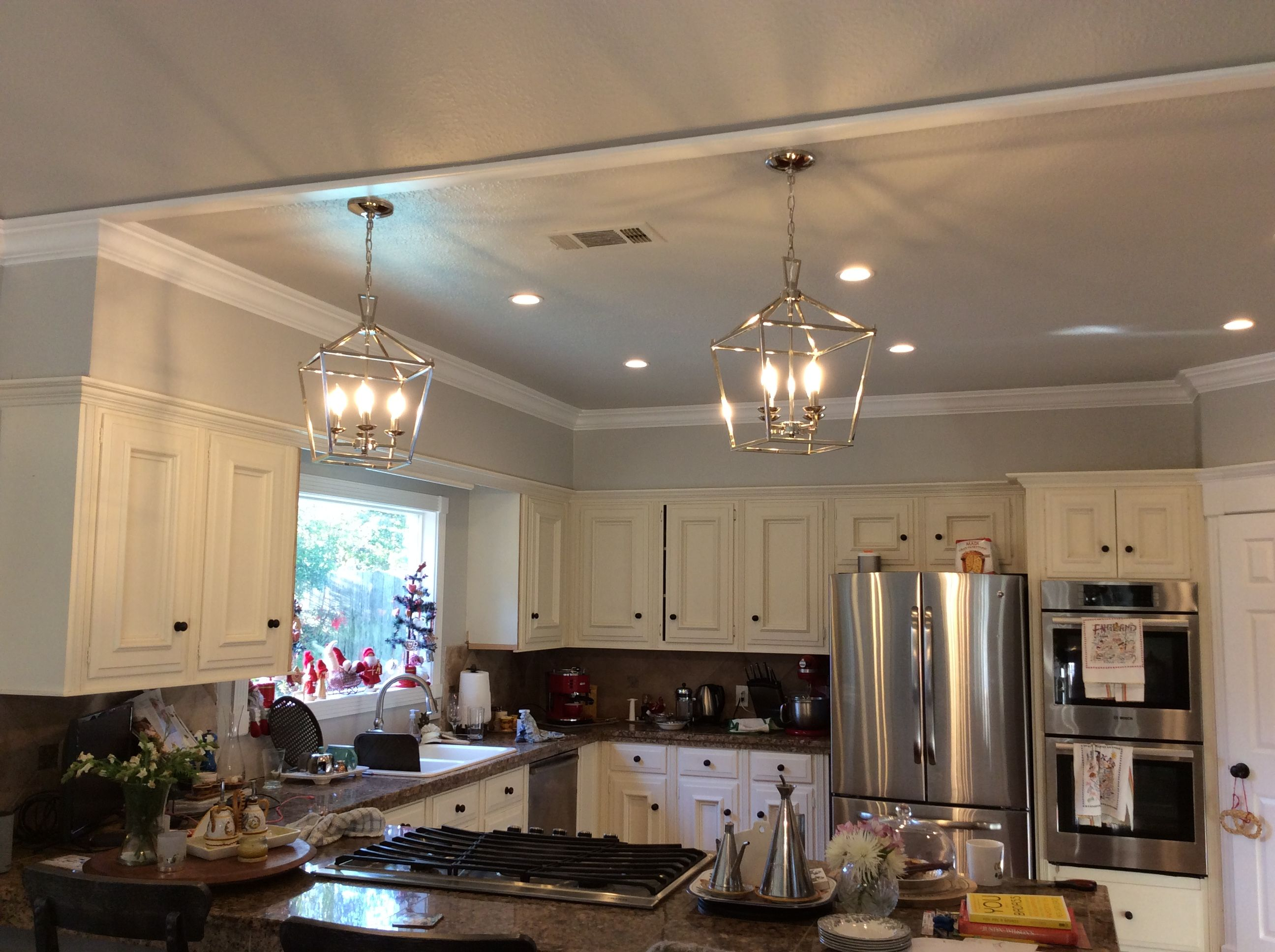 Peninsula Lighting In 2019 Kitchen Cabinets