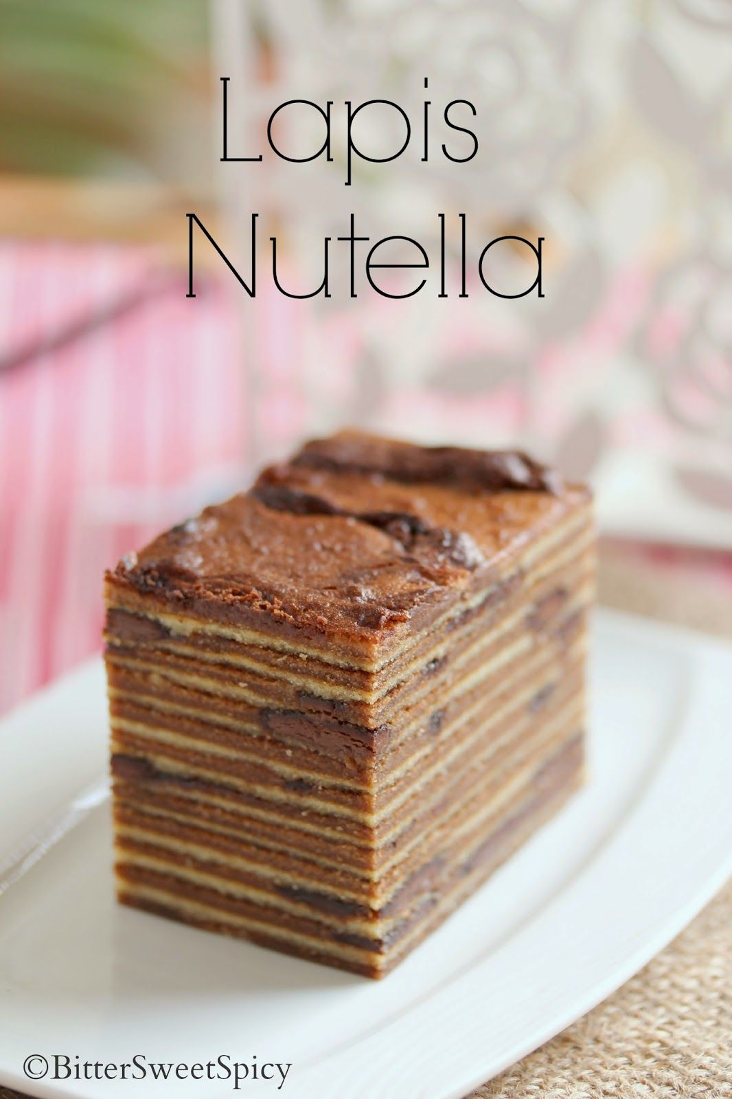 Lapis Nutella @ BitterSweetSpicy