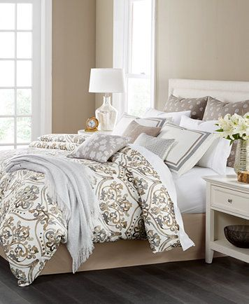 Martha Collection Victoria Reversible 14 Pc King Comforter Set Created For Macy S