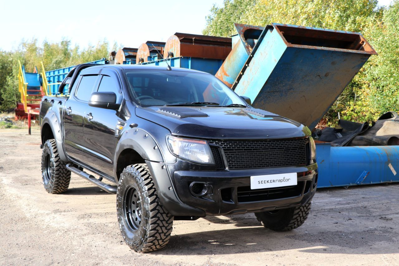 Ford Ranger 2 2 Seeker Raptor Black Edition With 4k Seeker Styling Spend Pick Up Diesel Black Ford Ranger Ranger Used Ford Ranger