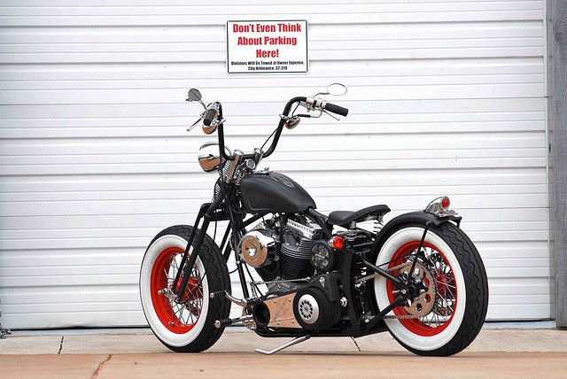 Old Skool Bobber With Apes Bobbers Bobber Chopper And