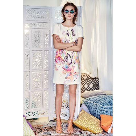 Kleid, Blumenprint Katalogbild