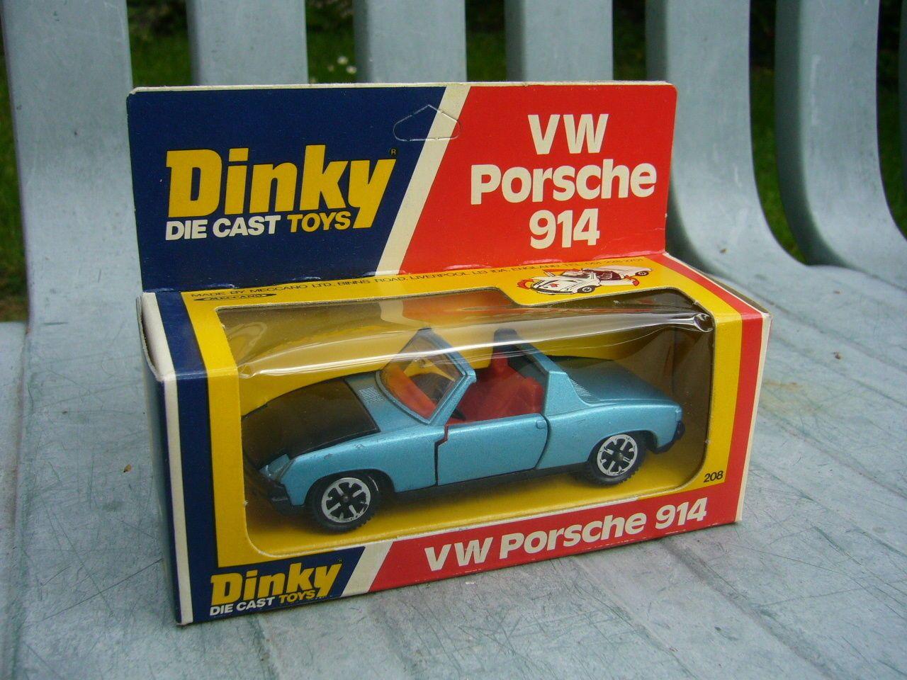 Dinky VW Porsche 914