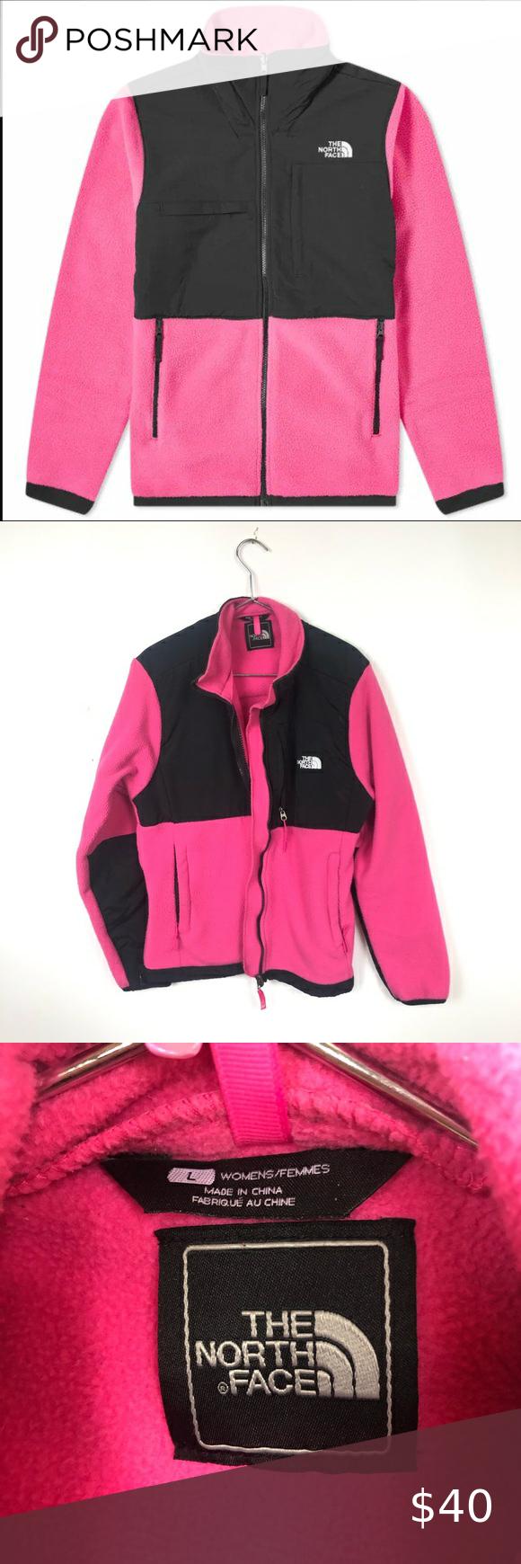The North Face Denali 2 Black Pink Fleece Jacket Fleece Jacket Womens Fleece Jacket North Face Jacket [ 1740 x 580 Pixel ]