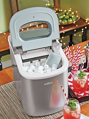 Portable Ice Maker Salton Tabletop Ice Machine Solutions