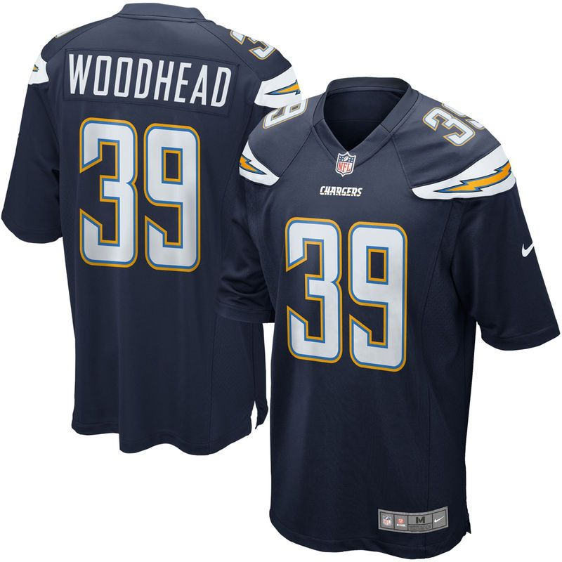 11aa0d9ad Nike Danny Woodhead Los Angeles Chargers Youth Game Jersey - Navy Blue