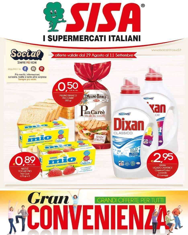 Sono online le nuove offerte! Visitate il sito www.sisacentrosud.it ...