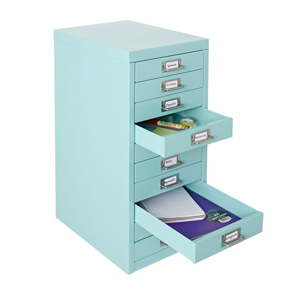 Office Metal Cabinets Office Works Spencer Drawers Blue Http Wwwofficeworkscomau