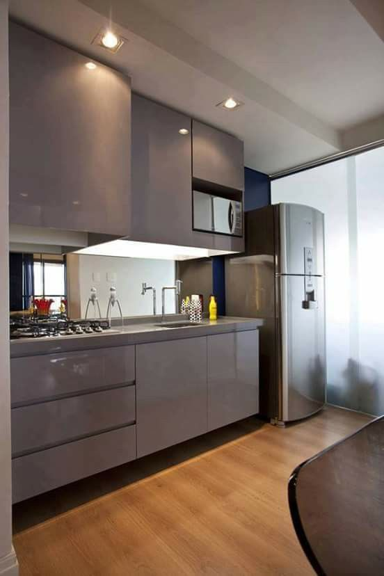 Small Apartment Design, Modern Apartments, Kitchen Decor, Search, Luxury  Kitchens, Decor Room, Cabinet Knobs, Islands, Look Alike