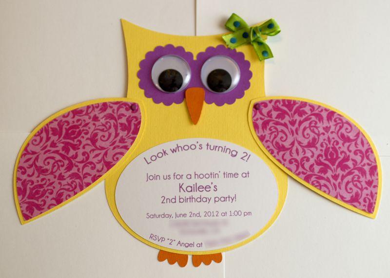 Homemade Owl Craft For Baby Shower Girl