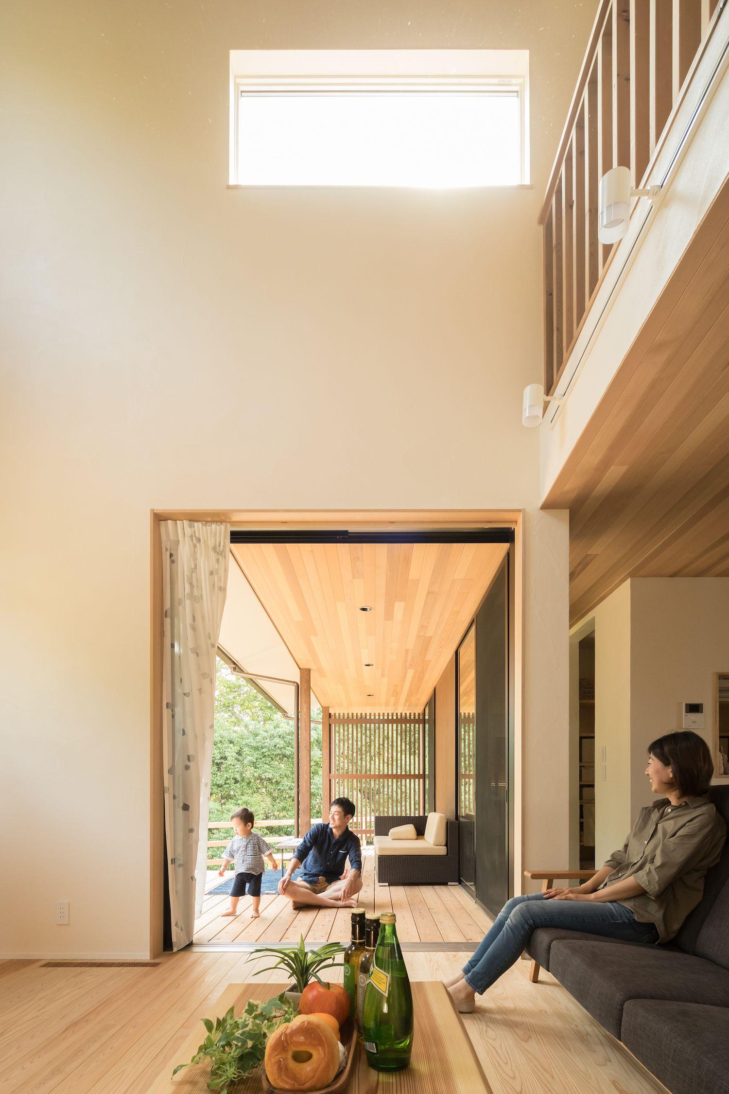 光と風と緑の家 家 デザイナーズ ハウス モダンハウスデザイン