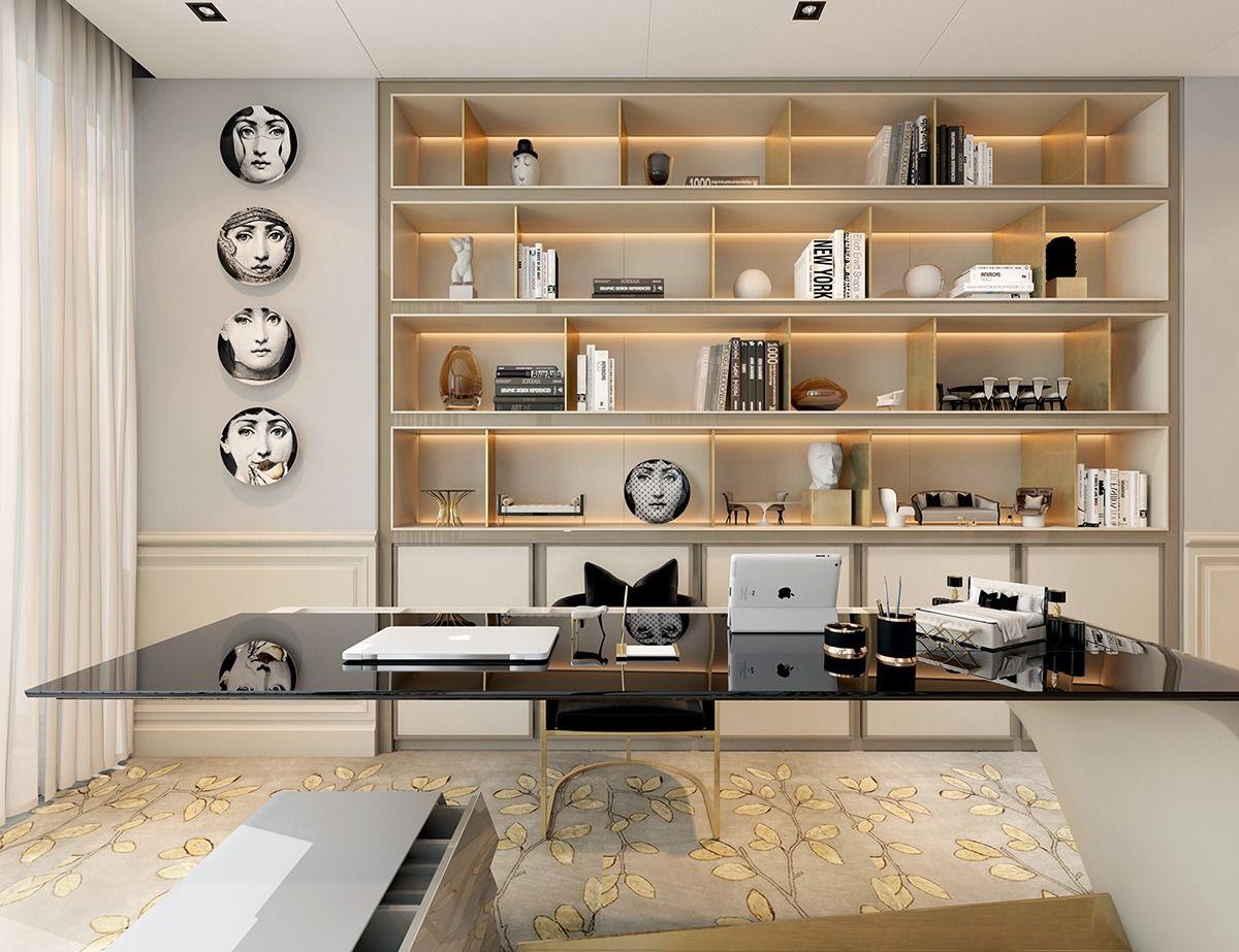 Art Deco Para Hoje Decoracao Art Deco Projeto De Home Office