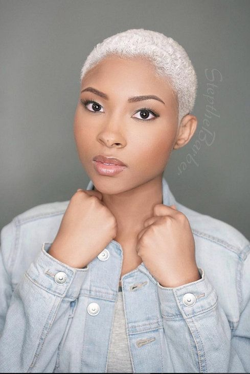 16 Badass Black Women Slaying In Shaved Hairstyles Natural Hair Styles Short Natural Hair Styles Shaved Hair