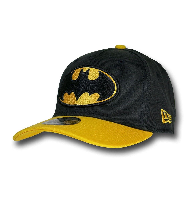 Batman Logo Black   Yellow 39Thirty New Era Cap - CQ11GMYF9K1 - Hats    Caps 6219c4021260