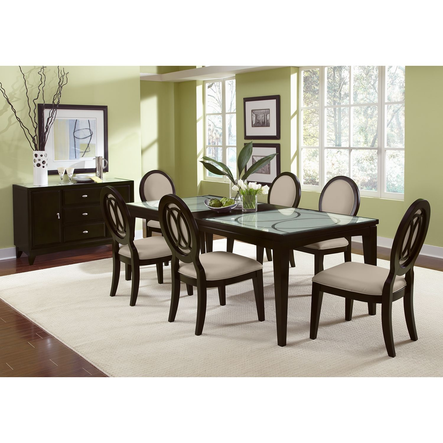City Furniture Dining Room Sets: Cosmo Dining Room Table - Value City Furniture