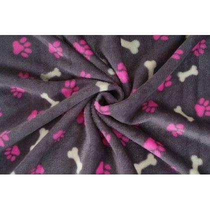 Coral fleece tlapka a kostička c21ce304510