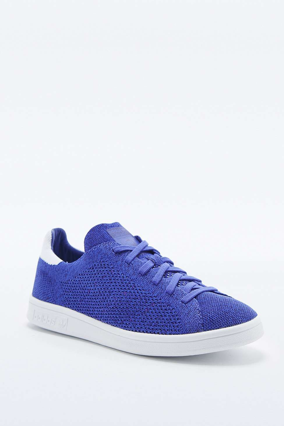 adidas Originals Stan Smith Prime Knit Purple Trainers