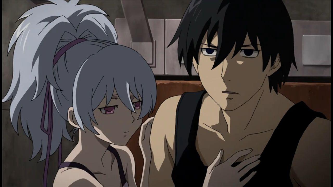 Darker Than Black Hei X Yin Photo Hei And Yin Anime Romantic Anime Anime Motivational Posters