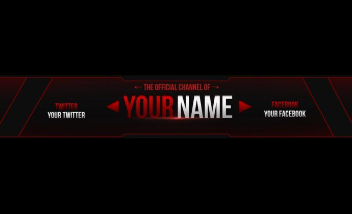 Free Youtube Banner Templates To Download For Your Channel Followlikesocial Buy Cheap Instagram Followers Buy Cheap Instagram Likes Youtube Banner Template Youtube Banner Design Banner Template