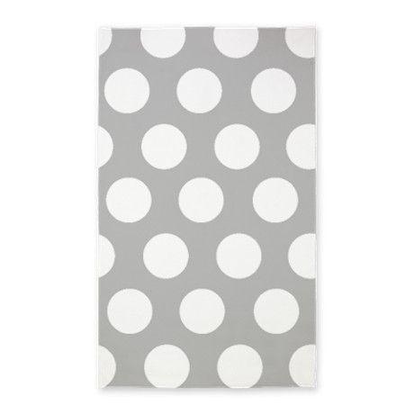 Grey Large Polka Dot 3 X5 Area Rug By Inspirationz Store Polka Dot Rug Area Rug Decor Polka Dot Decor