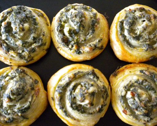 easy homemade holiday appetizers little spinach pinwheels click pic for 24 christmas finger food ideas