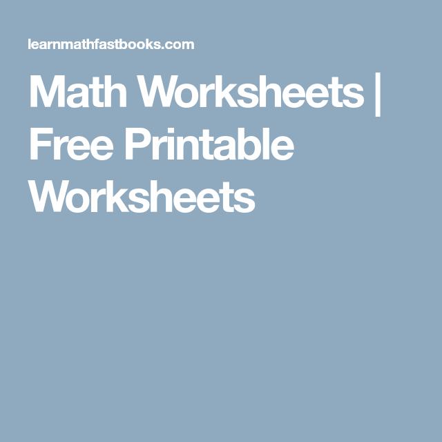 Math Worksheets Free Printable Worksheets Free Printable Worksheets Math Worksheets Printable Worksheets