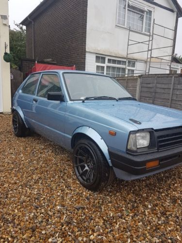 eBay: toyota starlet kp60 rwd project track car drift car c20xe
