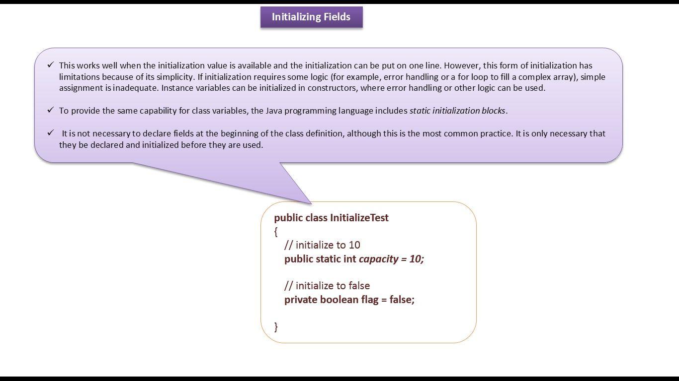 Java ee java tutorial java initializing fields j2ee pinterest java ee java tutorial java initializing fields baditri Choice Image